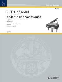 Robert Schumann: Andante & Variationen Opus 46 2P.: Piano Duet