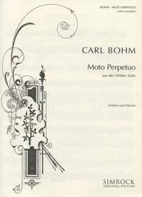 C. Boehm: Moto Perpetuo (Dalla Suite N. 3): Viola: Instrumental Work