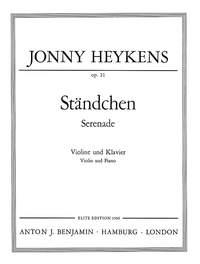 Serenade op. 21-1: Violin: Instrumental Work