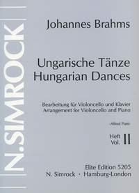 Carlo Alfredo Piatti: Hungarian Dances Volume 2: Cello: Instrumental Album