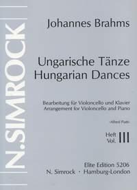 Carlo Alfredo Piatti: Hungarian Dances Vol. 3: Cello