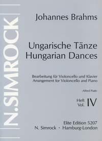 Carlo Alfredo Piatti: Hungarian Dances Vol. 4: Cello