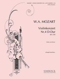 Joseph Joachim: Violin Concerto No. 4 D Major K 218: Violin