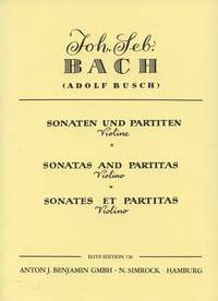 Johann Sebastian Bach: Sonatas And Partitas For Violin: Viola: Instrumental Work
