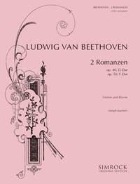 Joseph Joachim: 2 Romances - Op.40 And Op.50: Violin: Instrumental Work