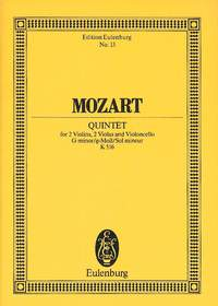 Wolfgang Amadeus Mozart: String Quintet In G Minor KV 516: String Ensemble: