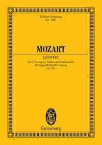 Wolfgang Amadeus Mozart: String Quintet Bb major KV 174: String Ensemble