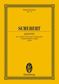 Franz Schubert: String Quintet In C Major Op. 163 D 956: String Quartet: