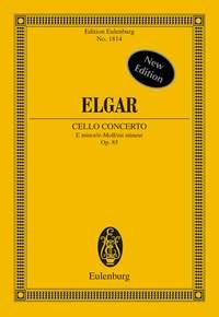 Edward Elgar: Cello Concerto In E Minor Op.85: Orchestra: Miniature Score