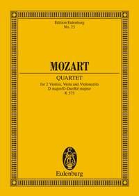 Wolfgang Amadeus Mozart: String Quartet In D Major KV 575: String Quartet:
