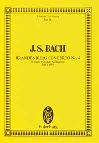 Johann Sebastian Bach: Brandenburg Concerto No 4 In G Major: Orchestra: