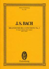 Johann Sebastian Bach: Brandenburg Concerto No 5 In D Major: Orchestra: