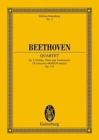 Ludwig van Beethoven: String Quartet Op 131 C Sharp Minor: String Quartet: