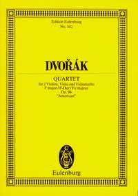 Antonín Dvo?ák: Streichquartet F Op.96: String Quartet: Miniature Score