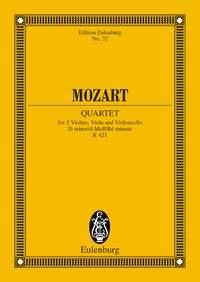 Wolfgang Amadeus Mozart: String Quartet In D Minor K421: String Quartet: