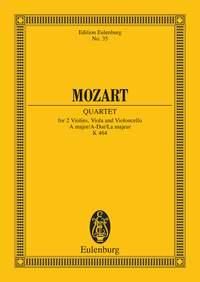Wolfgang Amadeus Mozart: String Quartet In A Major K464: String Quartet: