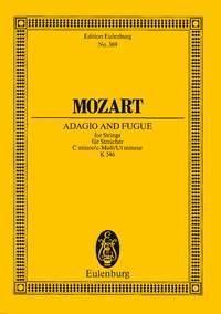 Wolfgang Amadeus Mozart: Adagio And Fugue K 546 In C Minor: String Ensemble: