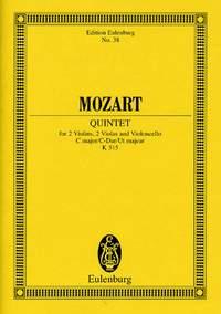 Wolfgang Amadeus Mozart: String Quintet In C Major KV 515: String Ensemble: