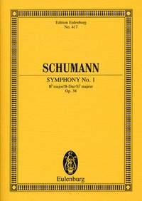 Robert Schumann: Symphony No 1 Op 38 In B Flat Major: Orchestra: Miniature Score