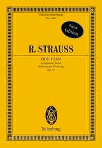 Richard Strauss: Don Juan Op. 20: Orchestra: Miniature Score