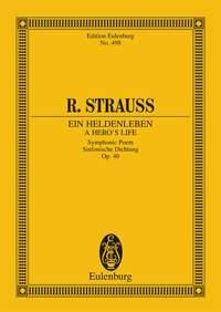 Richard Strauss: Ein Heldenleben: Orchestra: Miniature Score