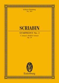 Alexander Scriabin: Symphony No. 2 C minor op. 29: Orchestra: Miniature Score