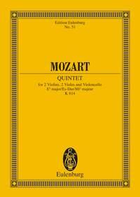 Wolfgang Amadeus Mozart: String Quintet In E Flat Major K 614: String Ensemble: