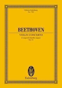 Ludwig van Beethoven: Violin Concerto In D Major Op.61: Orchestra: Miniature