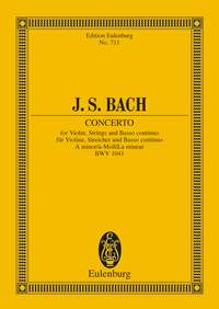 Johann Sebastian Bach: Violin Concerto In A Minor BWV 1041: Violin: Miniature