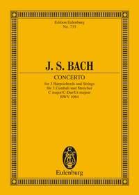 Johann Sebastian Bach: Harpsichord Concerto In C Major BWV 1064: Orchestra:
