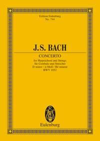 Johann Sebastian Bach: Harpsichord Concerto BWV 1052 In D Minor: Harpsichord:
