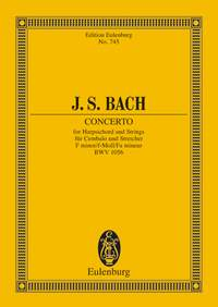 Johann Sebastian Bach: Harpsichord Concerto BWV 1056 F Minor: Harpsichord:
