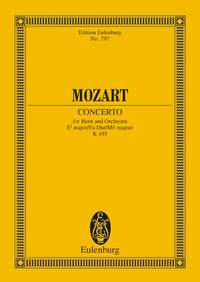 Wolfgang Amadeus Mozart: Horn Concerto No. 4 In E Flat Major K 495: Orchestra: