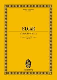 Edward Elgar: Symphony No.2 In E Flat Op.63: Orchestra: Miniature Score