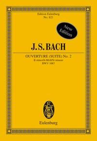 Johann Sebastian Bach: Suite No 2 B Minor Flute And Strings BWV 1067: Flute: