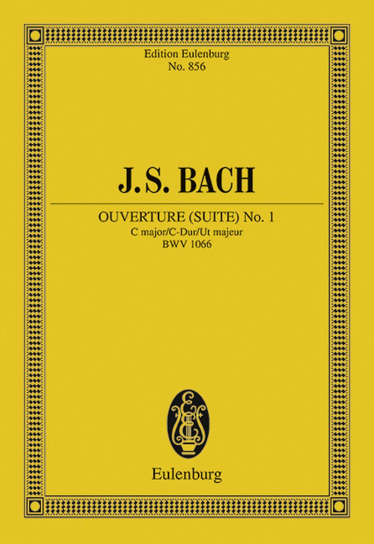 Johann Sebastian Bach: Overture: Orchestra: Miniature Score