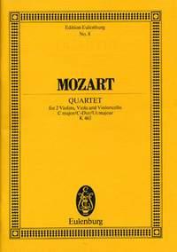 Wolfgang Amadeus Mozart: String Quartet In C Major KV 465: String Quartet: