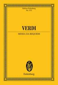 Giuseppe Verdi: Requiem: Mixed Choir: Miniature Score