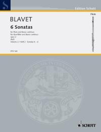Michel Blavet: Sonaten(6) 2 Op.2: Flute: Instrumental Work