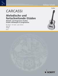Matteo Carcassi: 25 Melodische & Fortschreitende Etüden Opus 60: Guitar: