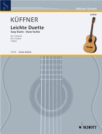 Joseph Kueffner: Leichte Duette: Guitar Duet: Instrumental Work