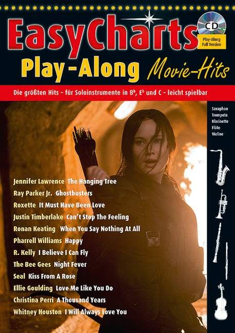 Easy Charts Play-Along ? Movie Hits: Instrumental Album