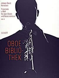 Johann David Heinichen: Triosonata C minor: Oboe Duet: Score and Parts