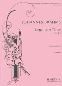 Johannes Brahms: Hungarian Dances 5 And 6: Viola: Instrumental Work
