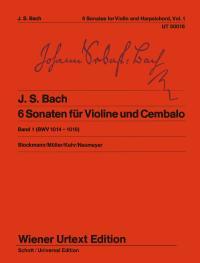 Johann Sebastian Bach: 6 Sonatas Volume 1 BWV 1014-1016: Violin: Instrumental