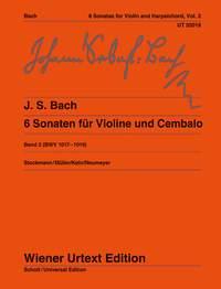 Johann Sebastian Bach: 6 Sonatas Volume 2 BWV 1017-1019: Violin: Instrumental