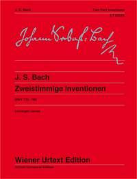 Johann Sebastian Bach: Two-Part Inventions BWV 772-786: Piano: Instrumental