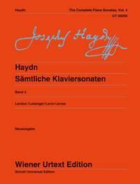 Haydn: Complete Piano Sonatas Vol. 4: Piano: Instrumental Work