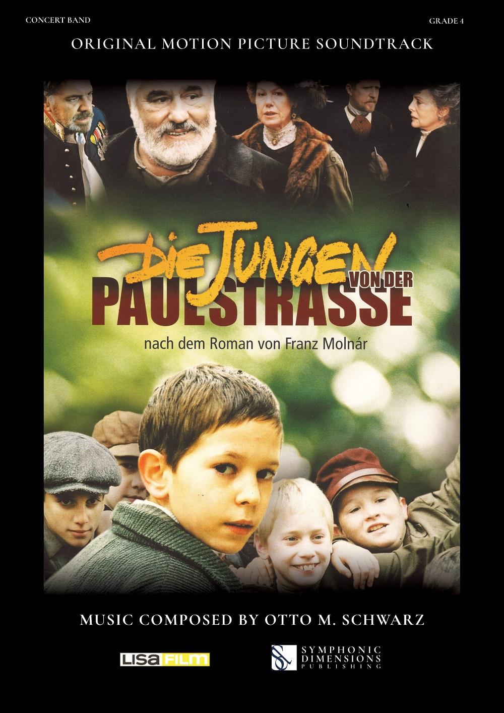 Otto M. Schwarz: Die Jungen von der Paulstrasse: Concert Band: Study Score