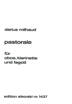 Darius Milhaud: Pastorale: Wind Ensemble: Instrumental Work